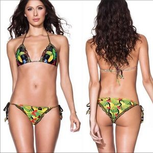 Agua Bendita Swim - AGUA BENDITO TUCAN BOTTOM Retails $99.00